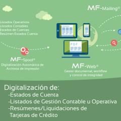 Digitalización de Listados de Gestión Contable u Operativa, Estados de Cuenta y Resúmenes/Liquidaciones de Tarjetas de Crédito