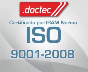 certificado por iram norma iso 9001-2008
